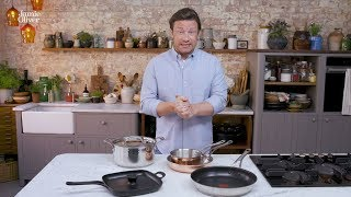 How to choose your cookware with Jamie Oliver amp Tefal