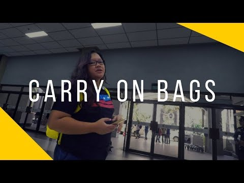 FAQs ON AIRLINE CARRY ON BAGS IN THE PHILIPPINE AIRPORTS