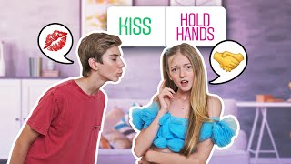 My INSTAGRAM Followers Control My FIRST DATE Challenge **OUR FIRST KISS**❤️💋|Emily Dobson