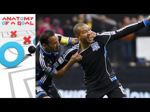 Anatomy of a Goal: Justin Morrow's Overlapping Goal Equalizes for the Earthquakes