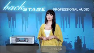 Amplificador HCFPRO-DSP 40 de BACK STAGE - con Pro
