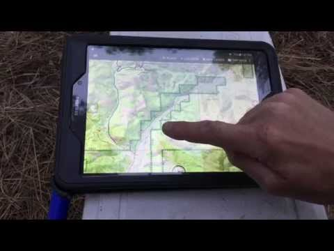 Samsung Galaxy Tab S - Backcountry Navigator Pro -  The Best GPS For Off Trail?