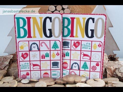 12 Tage Weihnachten 2016 - Weihnachts-BINGO