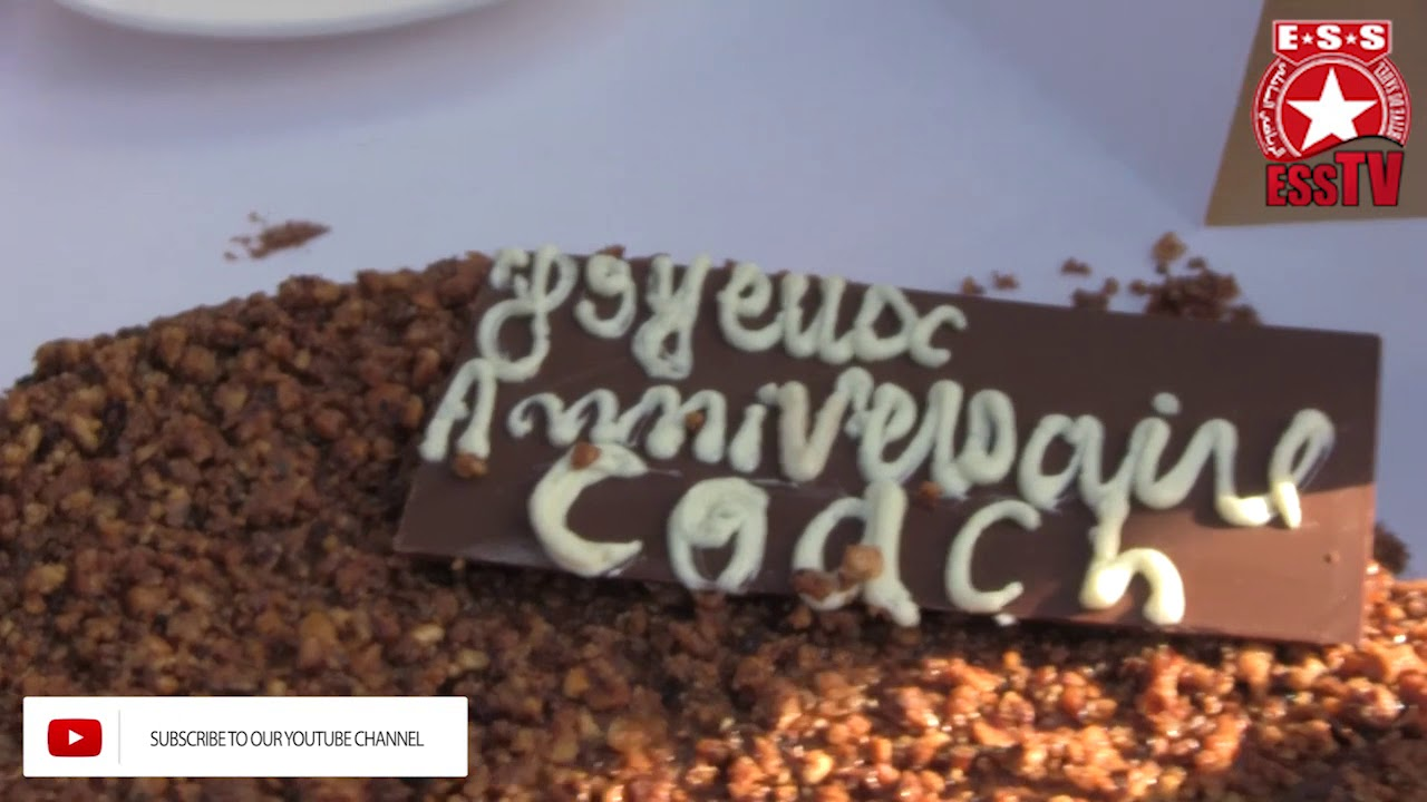 Foot Joyeux Anniversaire Coach Madhoui