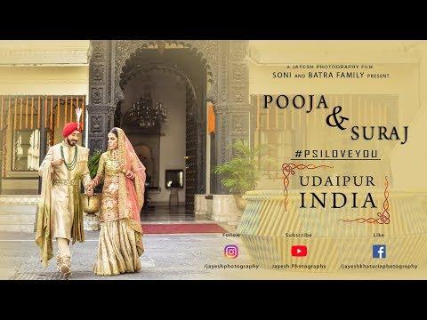 Udaipur Royal Wedding | Pooja & Suraj | November 2017 (Bride Side)