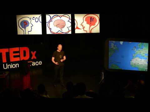 A theory of comedy, time and space: Tom McGinn at TEDxUnionTerrace