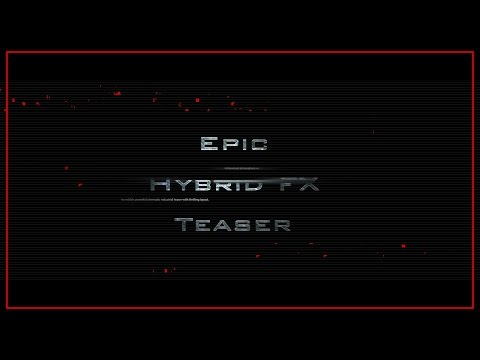 Distorted Reality (Epic Hybrid Industrial FX Teaser)