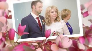 Необычное очень красивое свадебное слайд-шоу. Фотограф в Ярославле