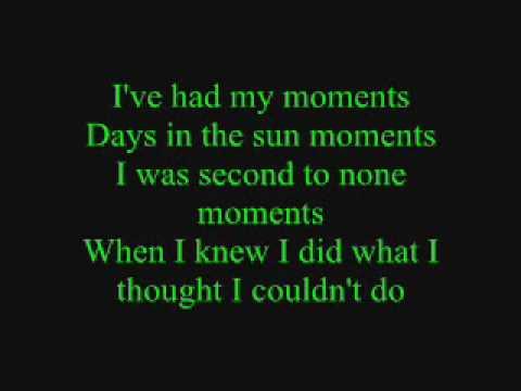 Emerson Drive- Moments lyrics