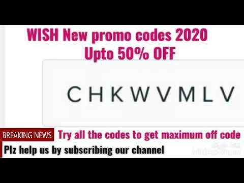 Wish promo code 2020|{100%working}| Free wish coupon code| free shipping wish codes.