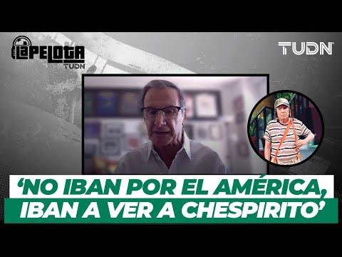 IMPERDIBLE: El día que 'Chespirito' opacó al América | La Pelota al que sabe | TUDN