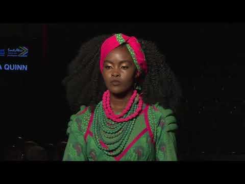 Africa Fashion Week London 2018 - Catwalk Designer Brenda Quinn