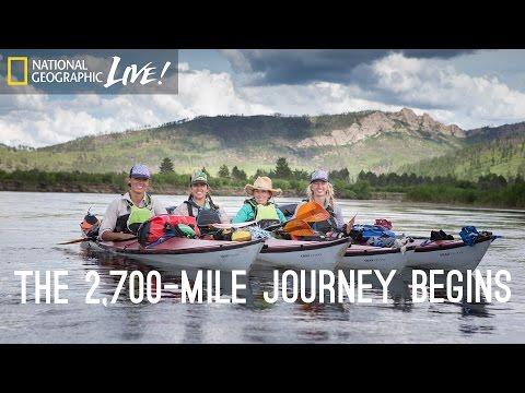 National Geographic Live! - Untamed River, Part 1: The 2,700-Mile Journey Begins   Nat Geo Live