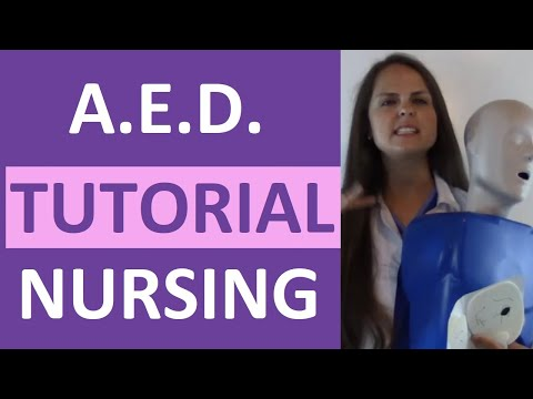 How to Use an AED | Automated External Defibrillator for Adult/Child CPR