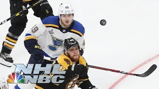 NHL Stanley Cup Final 2019: Blues vs. Bruins   Game 2 overtime (FULL PERIOD)   NBC Sports