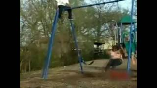 Fat Girl + Jumping Off Swing Set = Mega Lulz