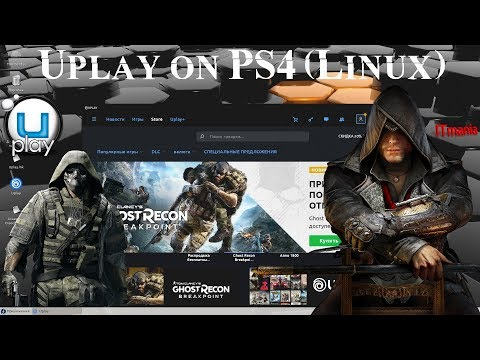Uplay On Playstation 4. Linux Fedora 30. Test - Assassin's Creed Chronicles: China