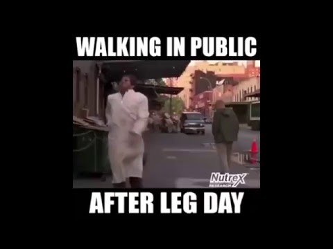 Funniest After Leg Day Fails Youtube