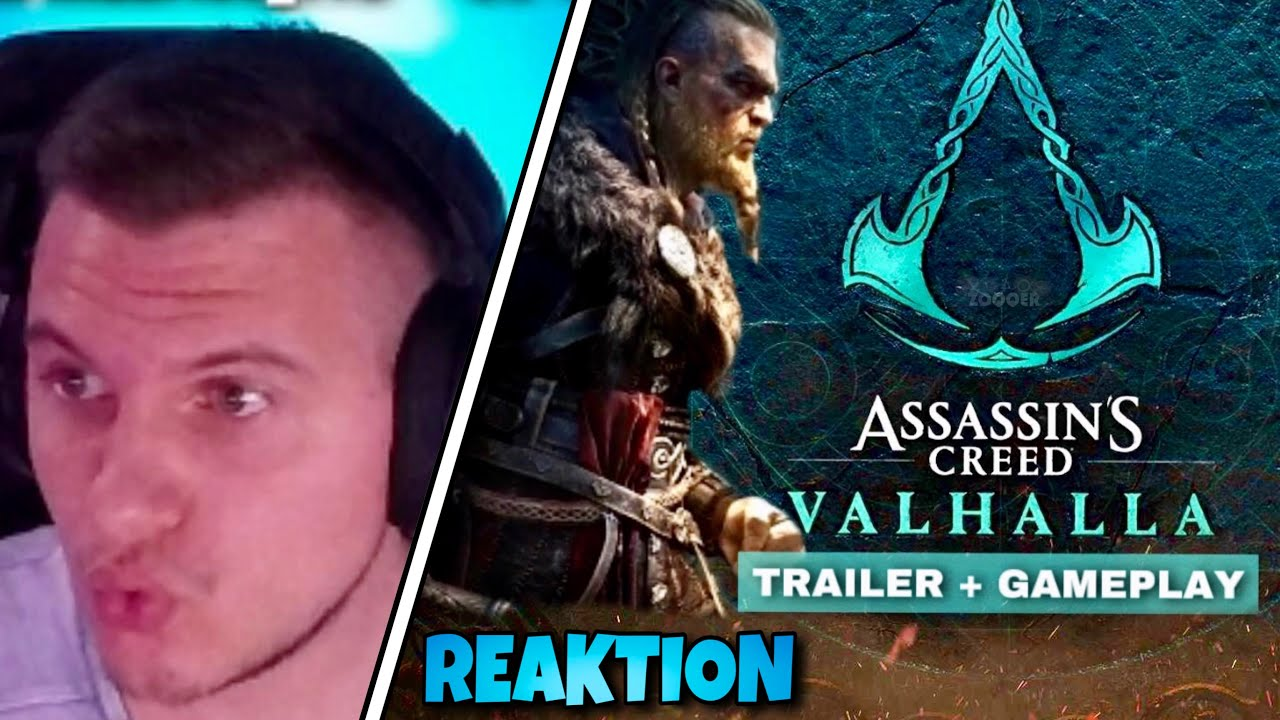 Assassin's Creed VALHALLA Gameplay 😍 - ZOQQER Reagiert