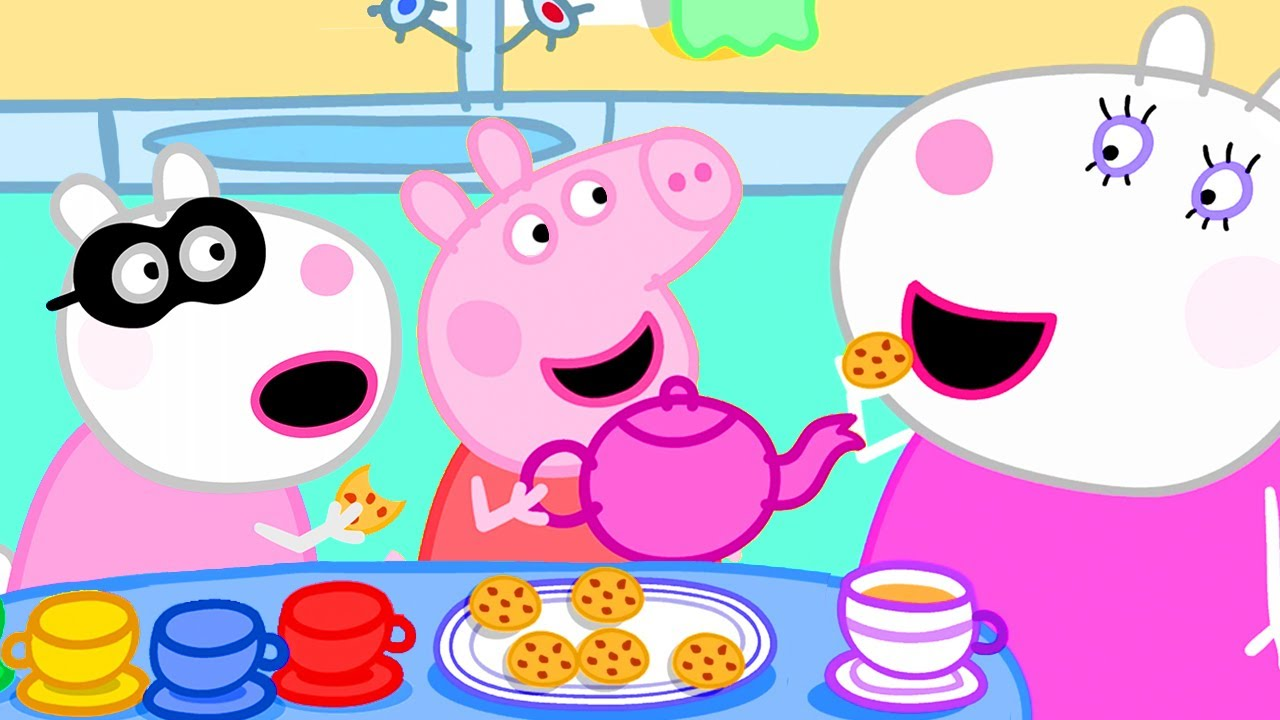 Peppa Pig Official Channel | Suzy Sheep's Leaving Party with Peppa Pig