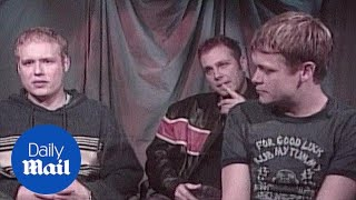 Matt Roberts (left) of 3 Doors Down talks about touring in 2001 - Daily Mail