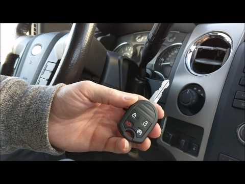 Ford F150 HOW TO Program New Key 2009 2010 2011 2012 2013 2014