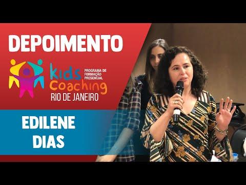 Kids Coaching Presencial Rio de Janeiro - Depoimento Edilene Dias
