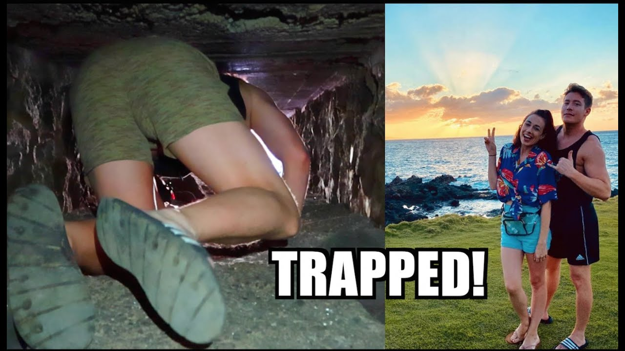 TRAPPED IN A CAVE IN HAWAII!