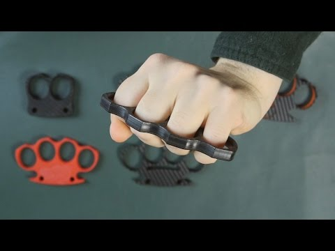 Plastic Knuckle Dusters - Legal In Canada!