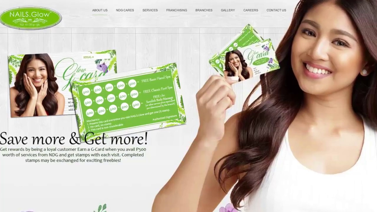 Nails Dot Glow Franchise Opportunity Video - YouTube