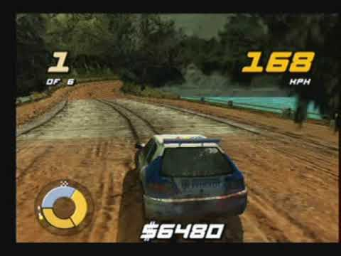 Shox : Extreme Rally Playstation 2 Gameplay ( PS2 EA.Big 2002 )