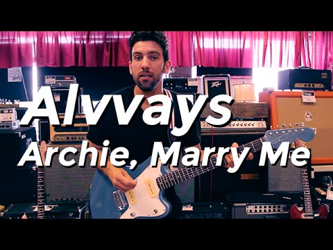 Alvvays - Archie, Marry Me (Guitar Lesson) by Shawn Parrotte
