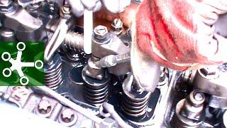Регулировка клапанов 6-цилиндрового рядного двигателя