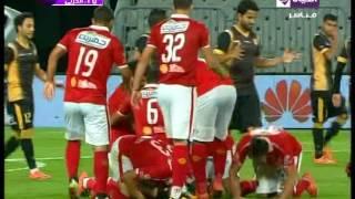 هدف الأهلي الأول في الإنتاج الحربي مقابل 0 وليد سليمان الدوري 17 مايو 2016