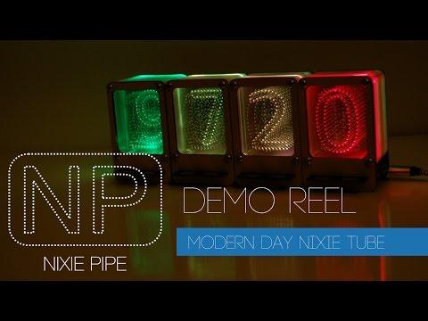 Nixie Pipe – Modern Day LED Nixie Tube   John Whittington