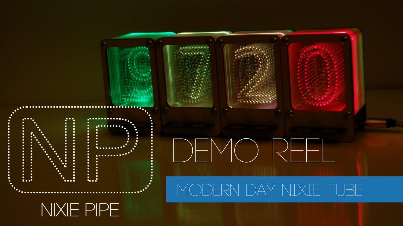 Nixie Pipe – Modern Day LED Nixie Tube – John Whittington Engineer