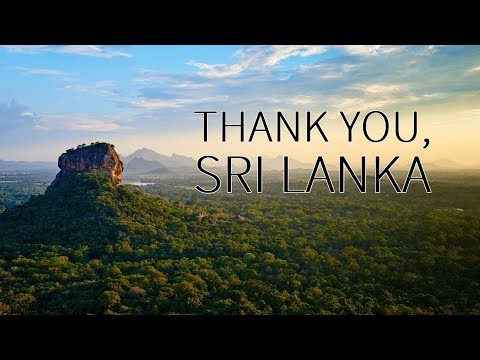 Travel video: THANK YOU, SRI LANKA 2018
