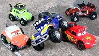 Cars RS500 1/2 Idle Threat, Shifty Sidewinder, Blue Grit, Off-Road RadiatorSprings500 ToyCollector