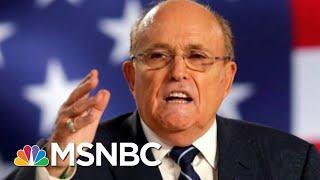 NBC News Reporter Recounts Moment He Realized Ruby Giuliani Butt-Dialed Him | Velshi & Ruhle | MSNBC