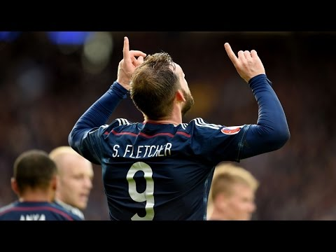 PLAYER CAM | Steven Fletcher v Gibraltar