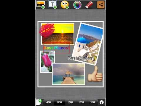 Pic Frame Dynamo iPhone App.... Creates wonderful artwork o
