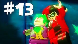 Road to Arkham Knight - Lego Batman Walkthrough - Part 13 - Harley Quinn Boss Battle