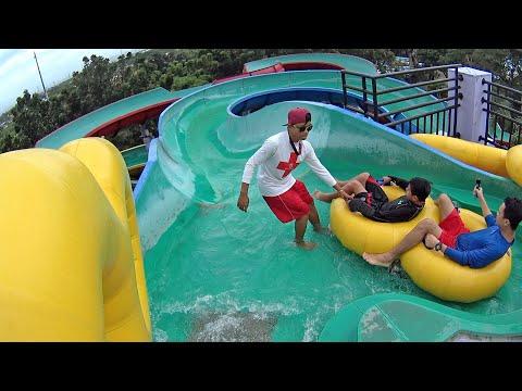 Tausug Water Slide at Splash Island