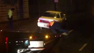 CAR ACCIDENT- BROOKLYN OCT 13 - CAMRY INTO POLE