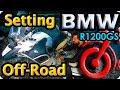 Preparación moto Off Road BMW R1200gs .Preparation motorcycle off road. Around the world motorcycle
