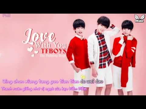[Vietsub+Kara] Love With You - TFBoys