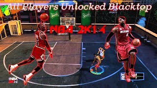 How To Get All Players In NBA 2K14 Blacktop PC