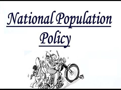National Population Policy of INDIA  2000