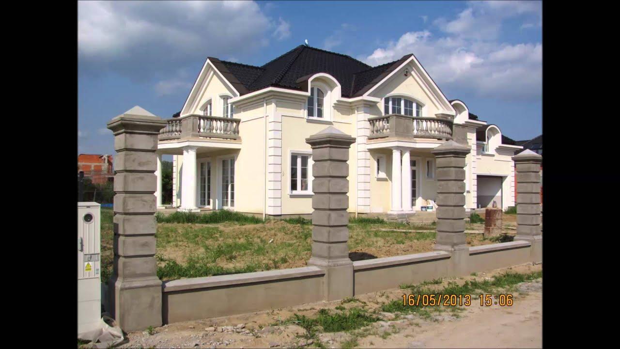 Ogromny Kolumny,fontanny,balustrady,ogrodzenia,słupy betonowe - YouTube TI63