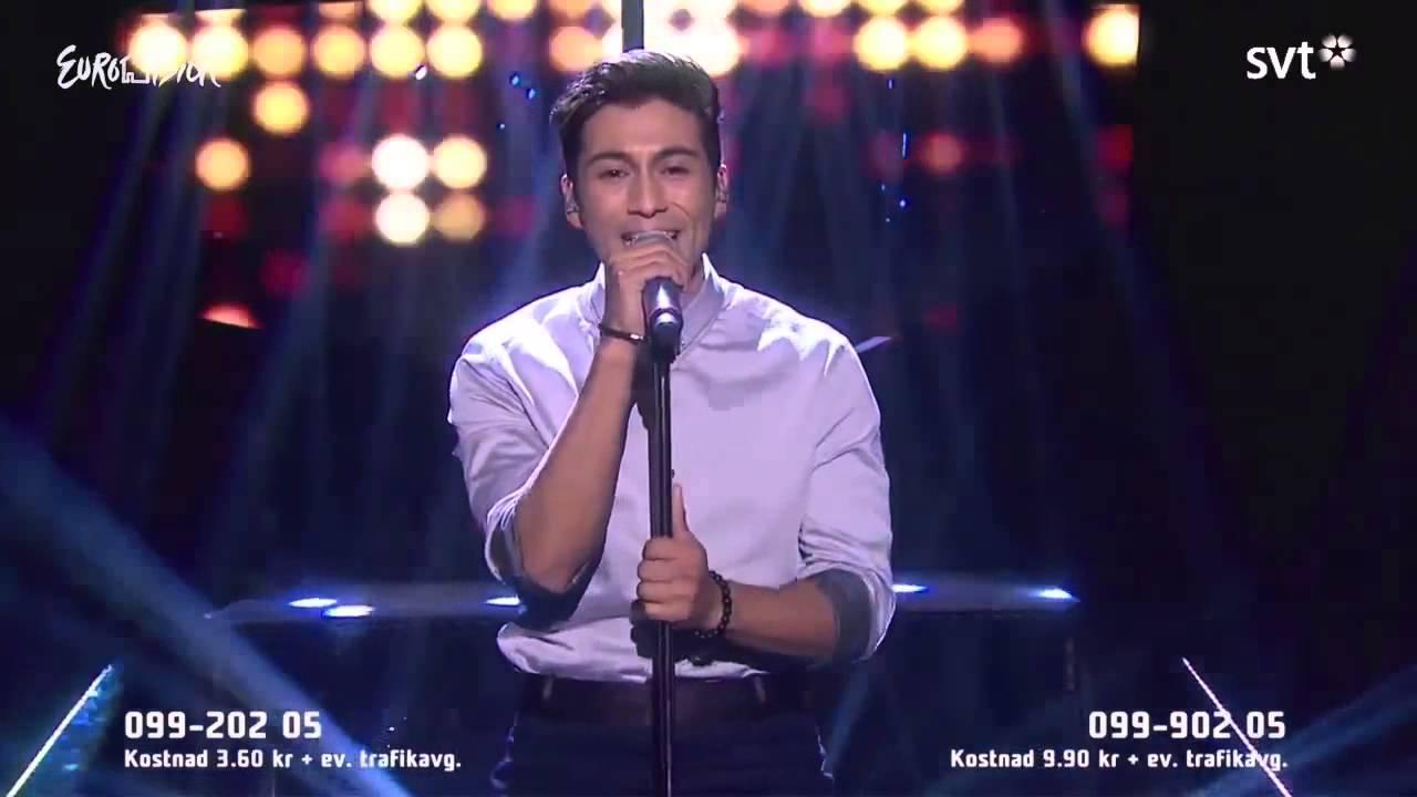Alvaro Estrella Bedroom Live Melodifestivalen 2014 2014 02
